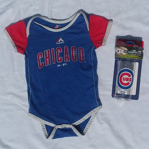 🔴CHICAGO CUBS BABY BUNDLE